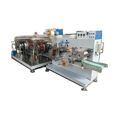 telescope straw making and packing machine
