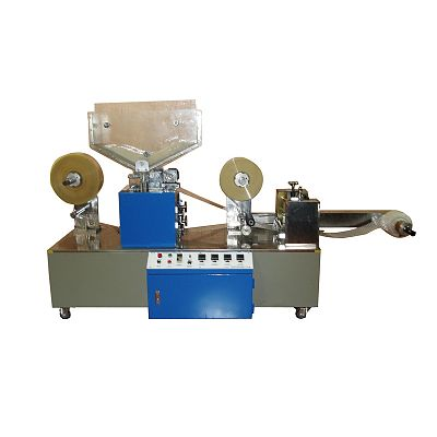 I-shape straws connecting packing machine & cutting machine