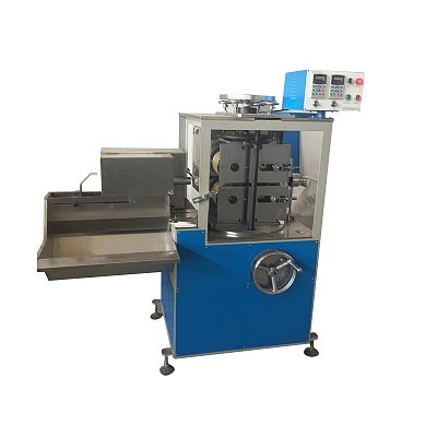 Full automatic spiral tube cutting machine